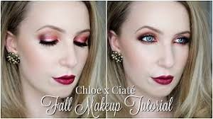 fall makeup tutorial chloe morello