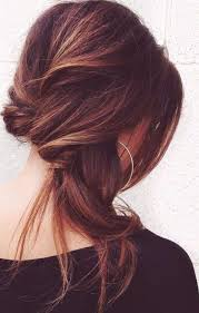 easy updo long hairstyle
