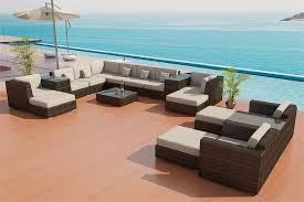 Sectional Sofa Outdoor Patio Furniture Set 25Outdoor Patio Furniture Sectionals