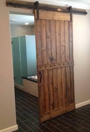 single barn door closet doors
