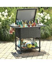 cooler cart diy outdoor drinks cooler wicker cooler cart outdoor bar cooler cooler cart build