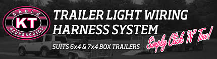trailer light wiring harness for box trailers click n tow kt have you ever wanted to wire up your trailer lights out a hassle kt s click n tow trailer light wiring harness is the solution for you