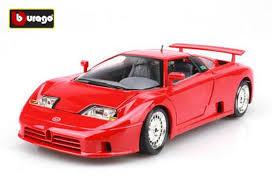 Dokładne odwzorowanie, metalowa karoseria, malowana prawdziwym lakierem samochodowym, wprawi w zachwyt każdego. Bburago 1994 Bugatti Eb110 Diecast Car Model Red 1 18 Scale Bb02b268