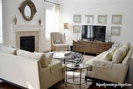 Two Sofa Living Room Design The Family Room I Would Like These Two Couches In A Different