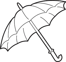 Small Picture Free Printable Umbrella Coloring Page for Kids