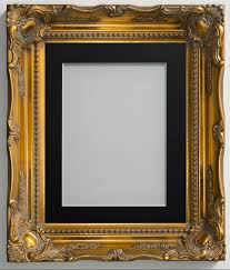 frame company langley range ornate gold picture photo frames with mount