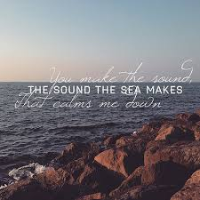 sound of sea quote image