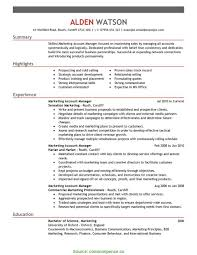 Sample Account Management Resume Valuable Key Account Manager Cv Template Sample Account Management 1