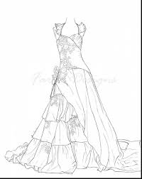 Small Picture Dresses Coloring Pages 908