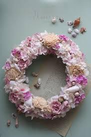 Shell Designs 87 Best Wreaths Images On Pinterest Wreath Ideas Boxwood Wreath