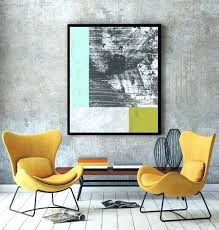 yellow and grey wall art geometric wall art large abstract print grey prints geometric wall art