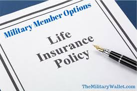 Vgli Rate Chart Life Insurance Options For Military Members