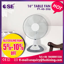 china 16 inch power consumption inverter small table fan ft 40 208 china fan cooler