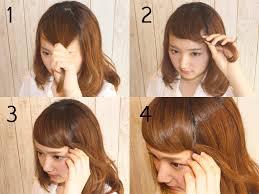 前髪アレンジまとめ所要時間1分と5分の簡単アレンジをご紹介