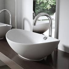 New Bathroom Ceramic CounterTop Wash Basin Sink Washing Bowl Oval Design  B818