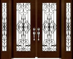 1 2 3 4 and full size wrought iron inserts