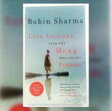 book review life lessons from the monk who sold his ferrari robin sharma