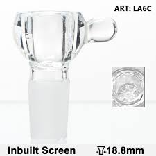 glass bowl with a glass bead sg 18 8mm inbuilt glass screen bowls bong accessories head the new ways