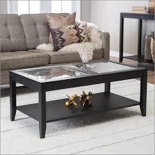 elegant espresso brown square coffee table