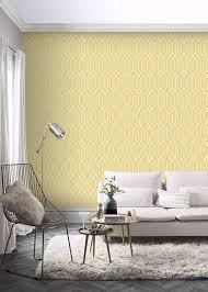 Arthouse New York Geo Wallpaper, Yellow ...