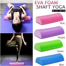 Half Round EVA Foam Roller for <b>Yoga</b> Pilates Fitness Equipment ...