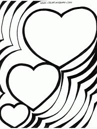 Small Picture adult coloring page of hearts coloring pages of hearts that say i