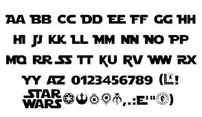 Star Jedi Font | Boba Fonts