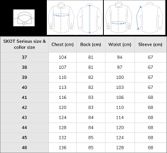 Shirt Size Chart From Skot Fashion Choose Sustainable
