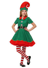 s holiday elf costume