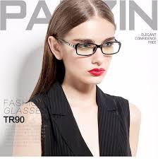 parzin tr 90 eyeglasses frame women myopia glasses frame brand design female glasses las eyewear accessories with case 5023