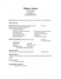 Fashion Merchandising Resume Sample Follow These Examples Manager
