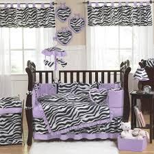 purple and black nursery bedding kids room