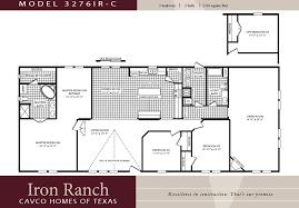 double wide floor plans 3 bedroom. Brilliant Wide 3 Bedroom Ranch Floor Plans  Large 2 Bath Double Wide  Manufactured Homes With Floor Plans Bedroom Pinterest