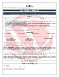 Best Ideas Of Procurement Consultant Resume Sample For Procurement
