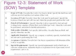 Sample Statement Of Work Template Project Statement Of Work Template Thevillasco 166516600037