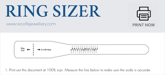 Actual Ring Size Chart Printable Find Your Ring Finger Size Our Complete Guide