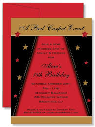 glamorous hollywood theme party invitations design as diy party invitations