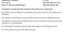 past papers pu lahore ma part economics paper research on  past papers 2014 pu lahore ma part 2 economics paper 4 research on pdf 14950 research