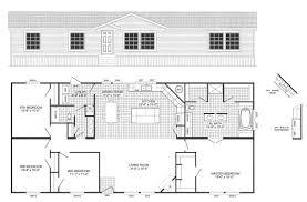 floor plans for 2 bedroom mobile homes