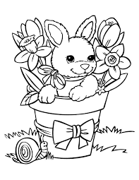 Bunny Rabbit Coloring Pages Awesome Easter Coloring Pages