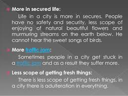 city life advantage and disadvantages 8