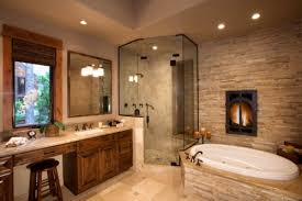 rustic stone bathroom designs. 18 rustic stone bathroom designs