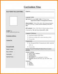 Best Resume Format For Freshers Lcysne Com