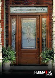 therma tru fiberglass entry doors consumers