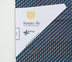 Bandana Bib Pattern Best How To Sew Bandana Bibs Free Pattern Instructions MaaiDesign
