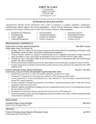 Army Resume Builder 18 Template Military Style Templates Format