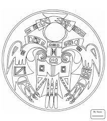 Small Picture native american mandalas arts culture Aztec Sun Stone coloring