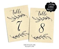 Reserved Signs Templates Reserved Signs For Wedding Tables Table Numbers Printable Template