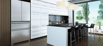 french door refrigerator in kitchen. Silver French Door Fridge For Modern Kitchens Refrigerator In Kitchen L