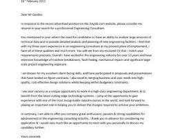 Resume Cover Letter Engineering Bunch Ideas Of Sample Cover Letter for Professional Engineer with 48